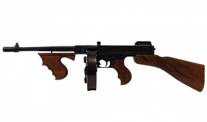 armas legendarias subfusil thompson m1928