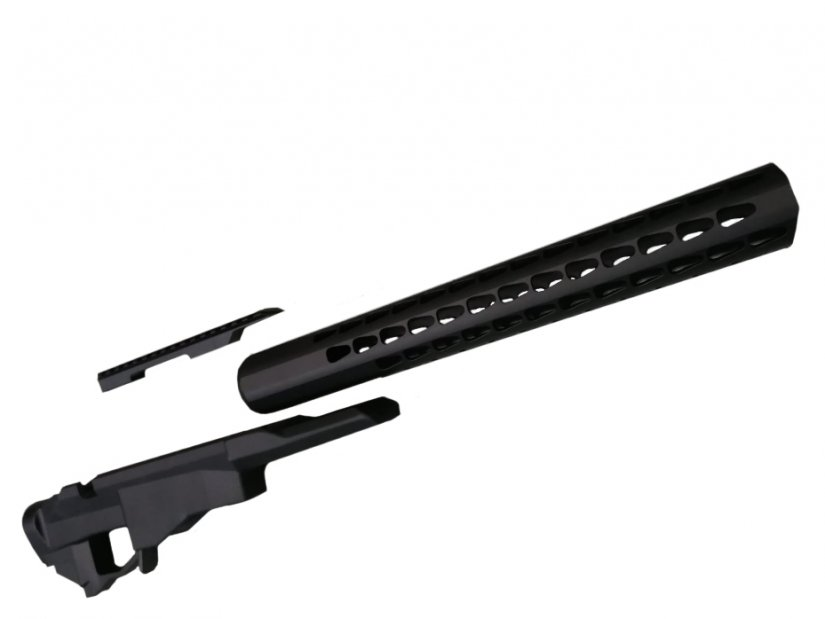 Despiece Chasis Táctico Remington 700 PCR