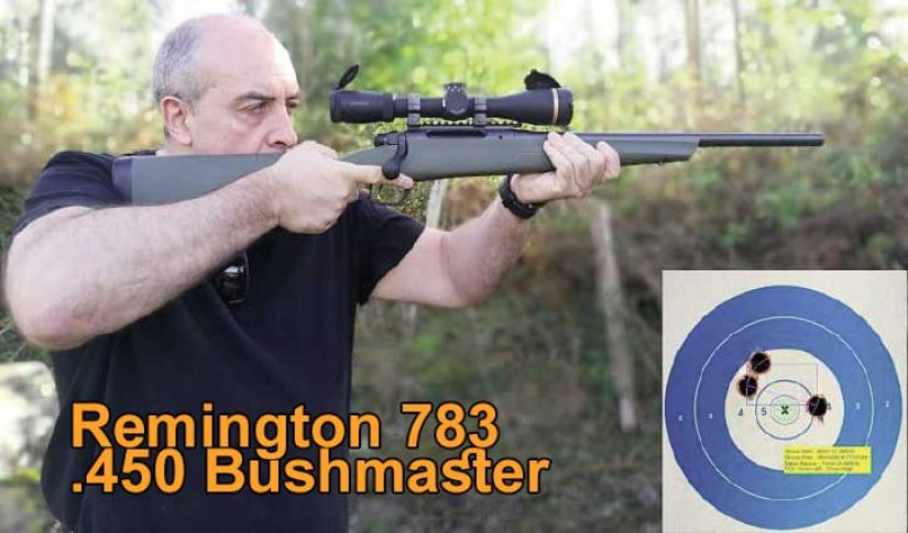 Remington 783 .450 Bushmaster