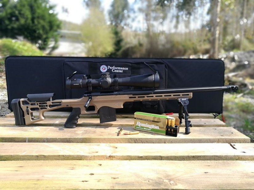 Rifle de cerrojo T/C Performance center LRR 308 Win.