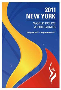 Cartel del New York Police Fire Games 2011
