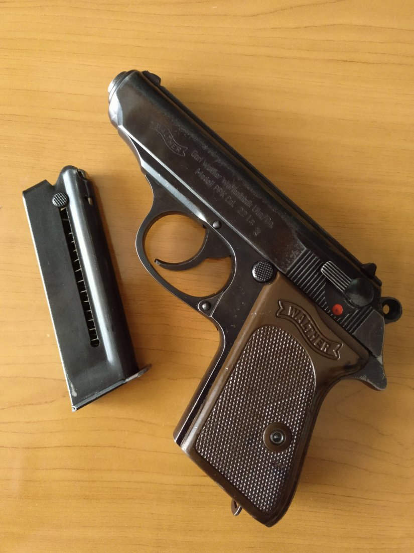 Imagen WALTHER PPK CAL. 22 L.R.