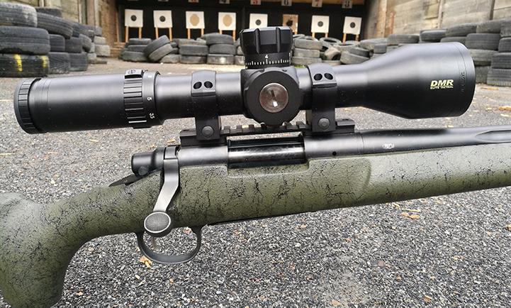Visor Remington 700 XCR Bushnell Tactical Elite DMR recortado