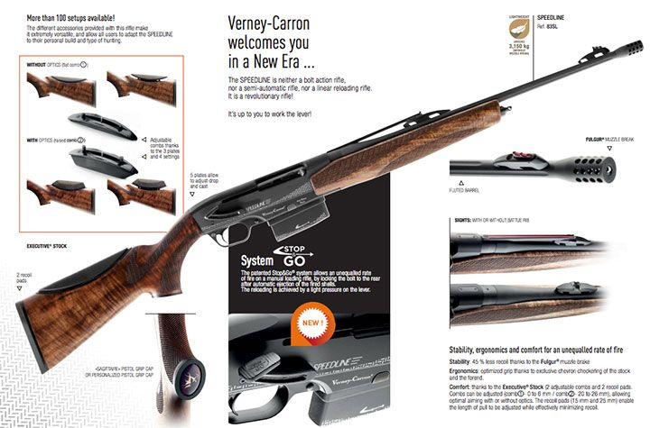 armas verney carron speedline stop and go cerrojo 2
