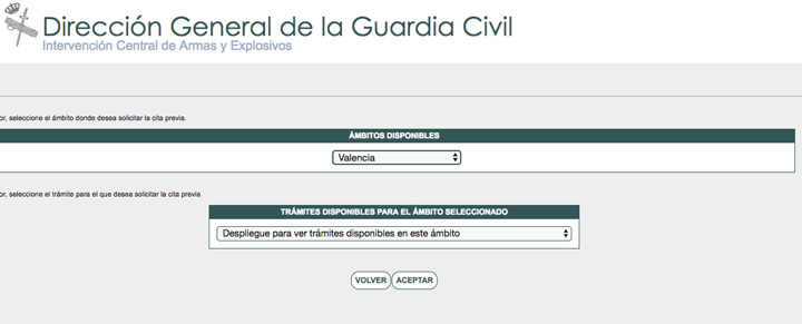 armas guardia civil cita previa 2