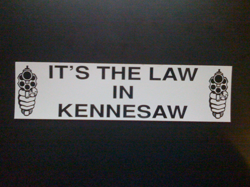 armas obligatorias its the law in kennesaw