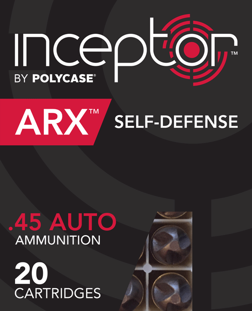 armas ARX Inceptor45Auto 20ct packaging window