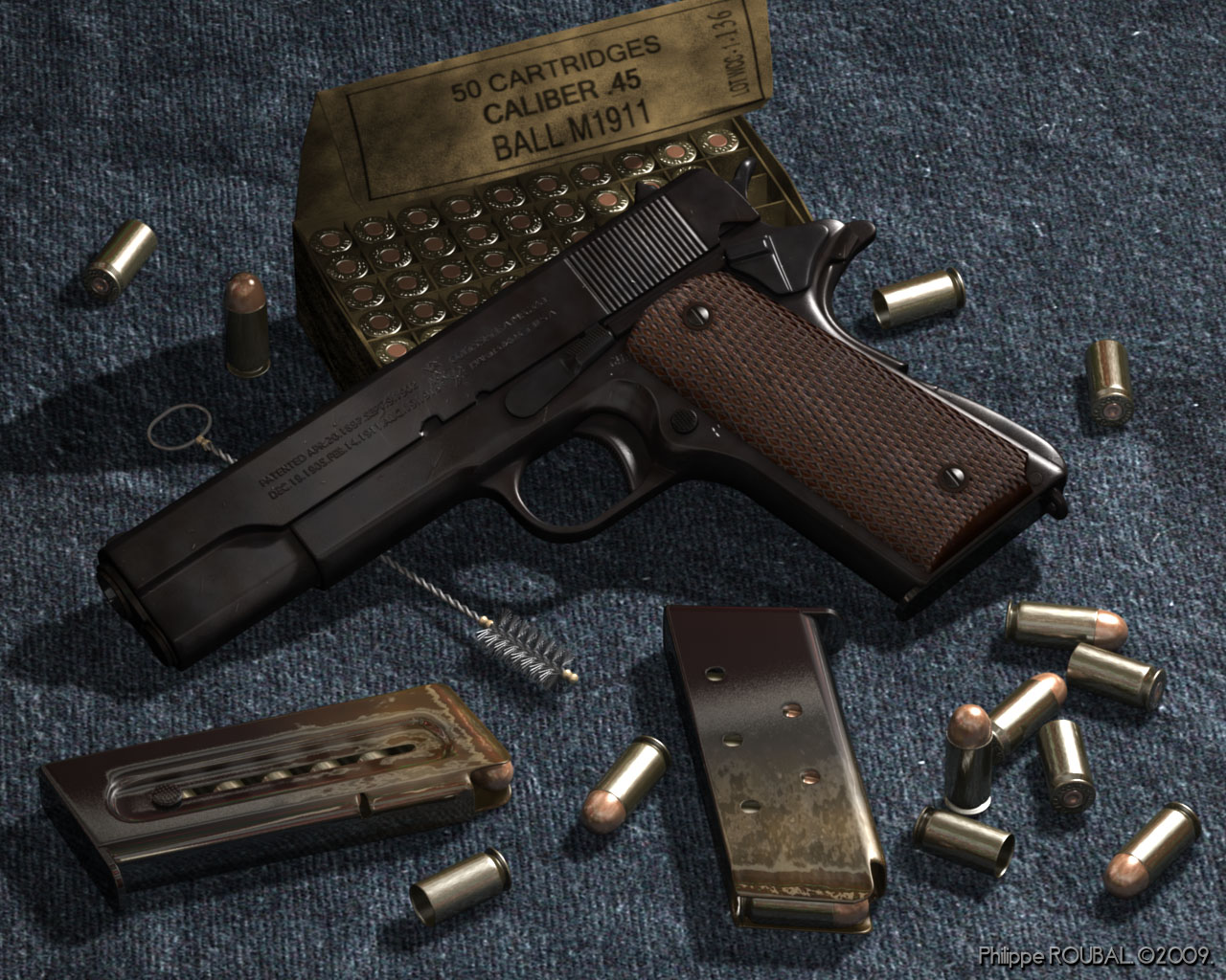 armas colt 1911 video funcionamiento interno