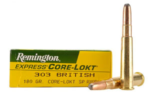 remington corelokt 303british