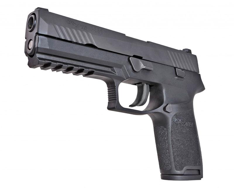 Sig Sauer P320: Nueva pistola modular de aguja lanzada disponible en ...