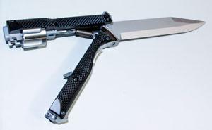 cuchillo revolver