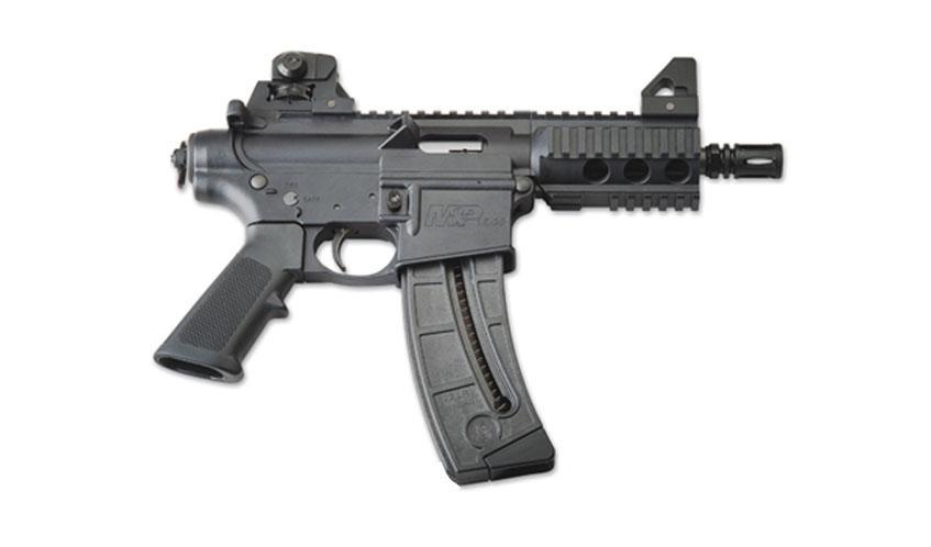 Smith & Wesson M&P15-22P: Una pistola semiautomática en ... R15 Arma