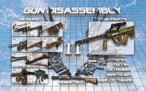 android gun disassembly
