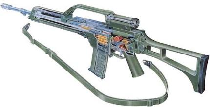Rifle Heckler Koch G36 E Tecnología Alemana En Manos Españolas