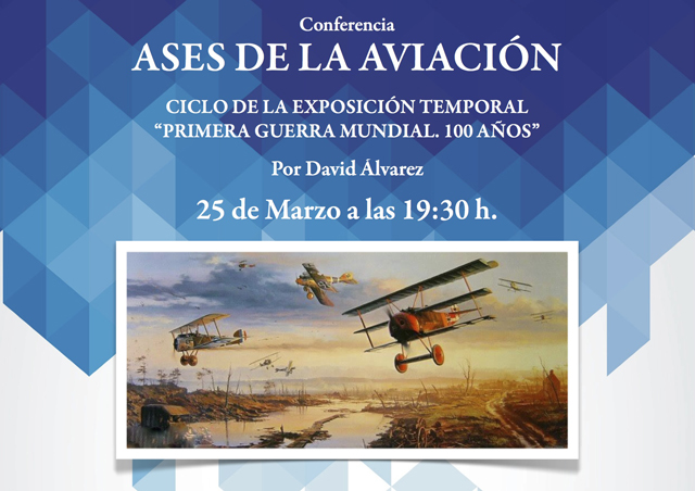 conferencia los ases de la aviacion de david alvarez