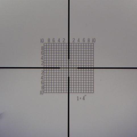 Colimador ayuda de alineación láser para óptica carabina 4 adaptadores 20 al .50