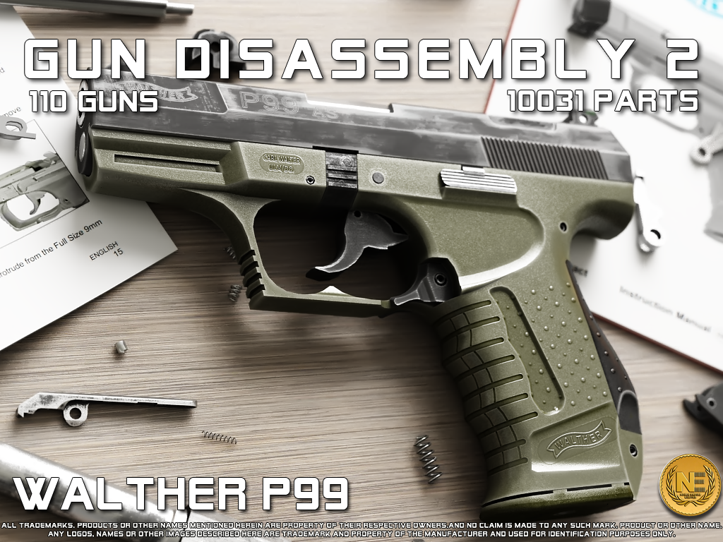 gun disassembly 2 aplicacion armas